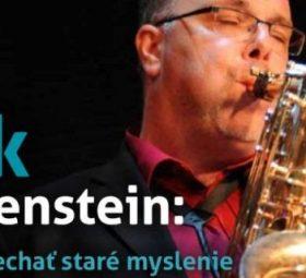 Erik Rothenstein - rozhovor - Treba zanechať staré myslenie
