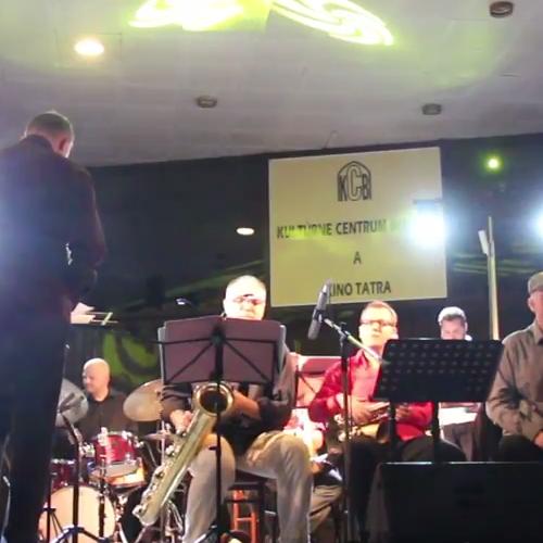 Matúš Jakabčic CZ-SK Big Band - Hudba na korze 2014