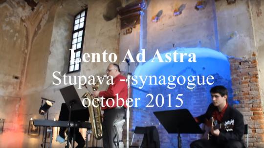 Lento Ad Astra - Stupava - synagogue